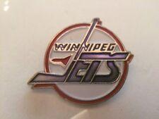 Winnipeg Jets NHL National Hockey League vintage metal & enamel hat lapel pin