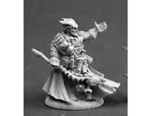 Reaper Miniatures Dark Heaven Legends 03846 Vatanis Maggotcrown Necromancer