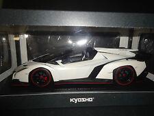 Kyosho Lamborghini Veneno Roadster blanc scellé corps 09502wo 1/18