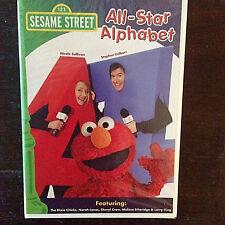Sesame Street - All Star Alphabet (DVD, 2005)