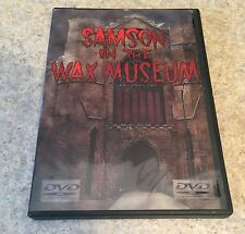 RARE Samson In The Wax Museum DVD. 1963 Mexican Horror Mystery.  OUT OF PRINT