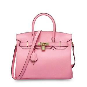New Padlock tote Designer Genuine Leather Inspired Crossbody Bag women Hot^