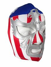 PATRIOT AMERICA USA (pro-fit) Adult Lucha Libre Halloween Wrestling Mask STRIPES
