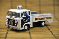 Vintage Emergency Truck Police Forward Control Jeep Tin Toy Nomura Tokyo Japan