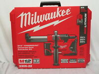 Milwaukee 2306-22 M12 HammerVac Universal Dust Extractor Kit HEPA FILTER 12V