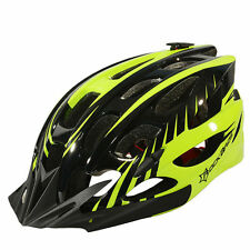 RockBros Cycling Helmet Road Bike MTB Helmet Black Green Size M/L 57cm-62cm
