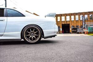 R33 GTS-T SKYLINE REAR POD EXTENSIONS JSAI AERO