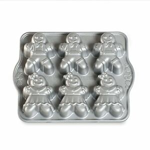 Nordic Ware Gingerbread Kids Cakelet Pan (86948)