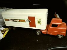 1950s STRUCTO CERTIFIED INDEPENDENT GROCER PRIVATE LABEL PRESSED STEEL TOY TRUCK