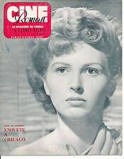 CINE ROMAN 242 (22/1/50) CARLA DEL POGGIO DISNEY VIVIANE ROMANCE MARTA TOREN