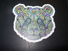 "MANIK APPAREL Art Sticker 3"" PANDA Color skate skateboard from poster print"