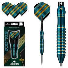 Mission Solace M1 Steeldarts 22 ,24 gramm Steel Dart Pfeile Brass Darts