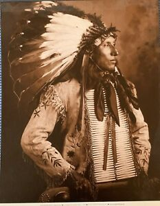 """NEW! Native American Indian Photo Prints - 8"""" x 10"""" - Curtis, Bell, etc..."""