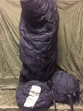 USGI Military Intermediate Sleeping Bag Cold Weather 30 to 10°F Black Tennier