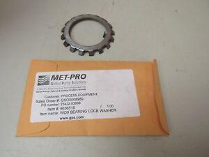 NEW MET-PRO W09 BEARING LOCK WASHER 9656515