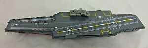 Motormax Battle Zone Aircraft Carrier Diecast 76787 Vintage Rare Incomplete