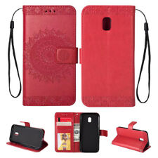 For Samsung Galaxy J3 J5 J7 2017 2016 Wallet Leather Card Flip Stand Case Cover