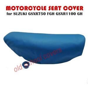 Suzuki GSXR750 F G-H GSXR1100 G-H Blau Lang Doppelt Sitzbezug & Riemen Gsxr 750
