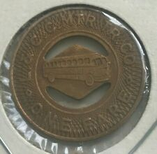 Hazleton Pennsylvania PA L & CC MTR Tr Co Transportation Token