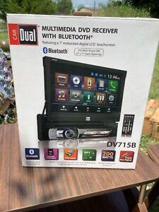Car Dual Dvd Multimedia Receiver With Bluetooth new in box DV715B
