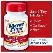 Schiff Move Free Ultra 60 Tablets Undenatured Type II Collagen & Hyaluronic Acid