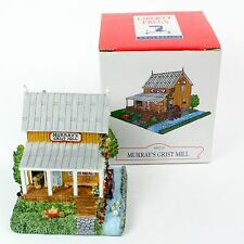 Christmas Village House Liberty Falls Americana Collection Murray's Grist Mill
