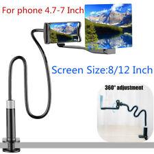 8/12″ Mobile Phone Screen Magnifier HD Projection Amplifier Bracket Flexible US