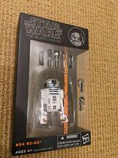 Hasbro Star Wars The Black Series: R2-D2 Action Figure Orange Line NEW # 04