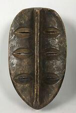 TRIBAL ART, AFRICAN ART KWELE MASK