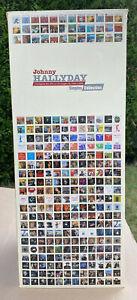 JOHNNY HALLYDAY - LA TOUR L'intégrale des 45T et CD singles de 1960-2006 en CD