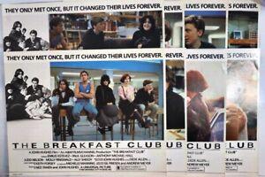 Breakfast Club 1985 original lobby card  set of 8