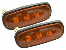 LED AMBER SIDE WING REPEATER INDICATORS FOR LAND ROVER DEFENDER TD5 PUMA 98-16