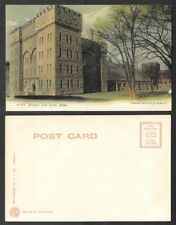 Old Massachusetts Postcard - Fall River - Armory - Rotograph