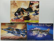 Aviación: Mikoyan MIG-23, MIG-27, SU-22M-4 1/144 Escala Modelo Flogger Kits
