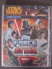 STAR WARS Serie 3 Movie Sammelmappe 71 Karten Force - Attax LE 1 limitiert TOP