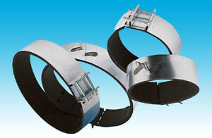 """Hydroponics Ducting Extractor Fans Filter Padded Fast Clamp 4"""" 5"""" 6"""" 8"""" 10"""" 12"""""""