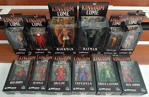 All Sealed Lot of (12) DC Direct Kingdom Come Batman Superman Flash, all MOC