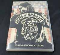 Sons of Anarchy - Season 1 (DVD, 2009, 4-Disc Set) Gently used