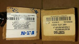 Eaton 3 Position Selector Switch 10250T1243