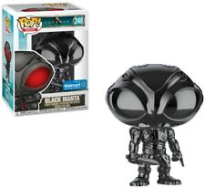 Dc Aquaman Movie Pop! Heroes Black Manta Exclusive Vinyl Figure #248 [Hematite]