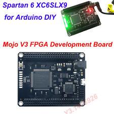 Mojo V3 FPGA Development Board Module Spartan 6 XC6SLX9 for Arduino DIY Newest