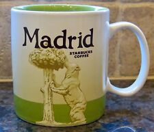 NWT Starbucks MADRID Spain Global Icon City Collector Series Mug AUTHENTIC w/SKU