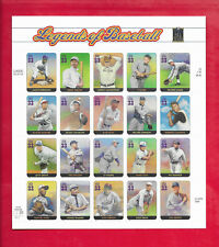 LEGENDS OF BASEBALL Sheet of 20 Stamps (Scott's # 3408 )  2000