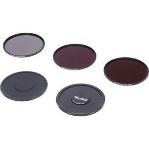 Rollei Premium ND Filter Set Ø 40,5 mm je 1x ND8, ND64, ND1000 Filter