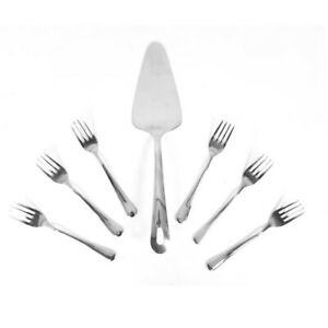 Tea Forks Afternoon Side Plate Small Cutlery Dinner Cake Slice Desert Set Gift