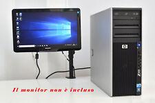 Workstation HP Z400, Xeon W3530, 12Gb, SSD 128Gb + 500Gb, NVidia, Computer, D185