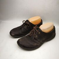 Merrell Select Grip Women's Sneakers Athletic Shoes Size 7.5 Dark Brown Leather
