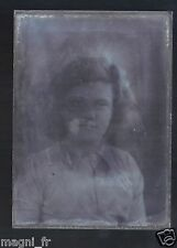 Plaque photo en verre - Femme  (Ref. 22)