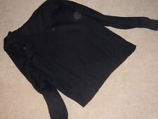 BEST COLLECTION Black long sleeved jumper Size M
