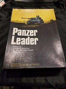 Panzer Leader Avalon Hill New Unpunched! PanzerLeader wargame! OOP Rare